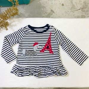 🧸5 FOR $20🧸PEKKLE Striped Top - 18M